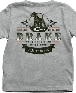 Drake Youth Quality Hunts Tee