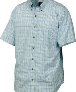 Drake Men's Big Easy Plaid Short Sleeve Shirt