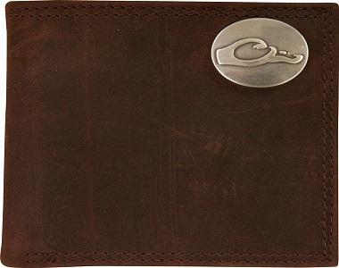 Drake Leather Bi-Fold Wallet