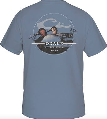 Drake Men's Canvasback Oval T-Shirt