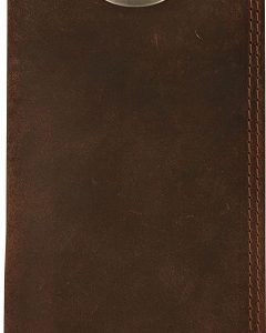 Drake Men's Leather Checkbook Wallet