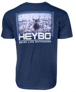 Heybo Men's Deer In Cotton T-Shirt