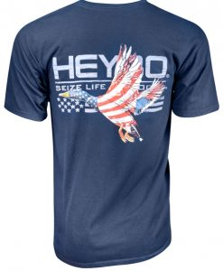 Heybo Men's Patriotic Duck T-Shirt