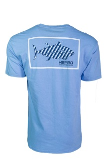Heybo Men's Prep Stripe Short Sleeve Pocket Tee