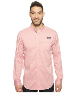 Columbia Men's Super Harborside Woven Long Sleeve Shirt