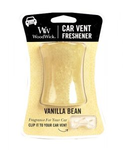 Woodwick Car Vent - Vanilla Bean