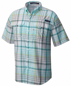 Columbia Men's PFG Super Bahama Short Sleeve Shirt