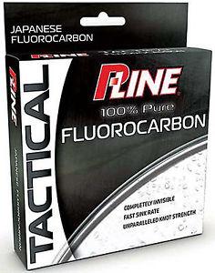 P-Line Tactical Fluorocarbon 17 lb./200 yd