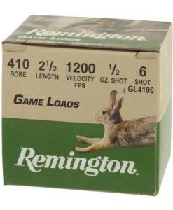 Remington .410 Game Load