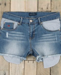 Southern Marsh Women's Denim Jessie Short