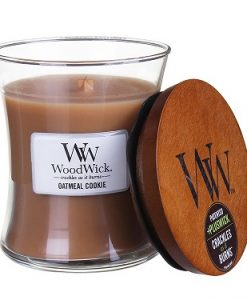 Woodwick Medium Candle- Oatmeal Cookie