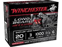 "Winchester Longbeard XR 20 Ga., 3"", 1-1/4 Oz., #6"