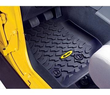 Bestop Front Floor Liners - Jeep 14-16 Wrangler 2dr & 4dr