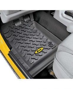 Bestop Front Floor Liners (Jeep 1997-2006 Wrangler)