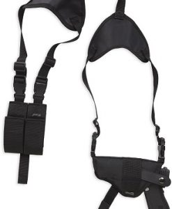 Bulldog Deluxe Shoulder Harness w/ Holster (Horizontal) & Ammo Pouch