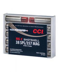 CCI 38SPL/357MAG Big 4 Shotshells