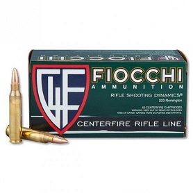 Fiocchi 223 Rem. 55gr FMJBT 50 Rd