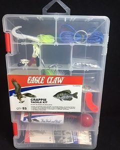 Eagle Claw Crappie Tackle Kit 53 Pc.