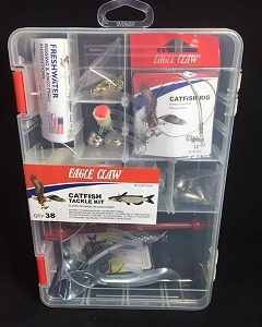 Eagle Claw Catfish Tackle Kit 38 Pc.