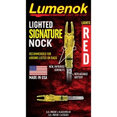 Burt Coyote Lighted Signature Nock 1 Pk.