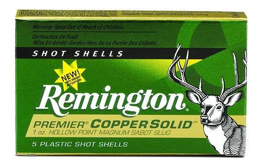 """Remington 12 Ga. 3"""", 1 Oz. Copper Slug"""