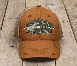 Southern Marsh Men's Trucker Hat - Hunting Dog