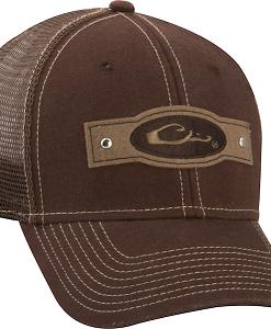 Drake Riveted Logo Mesh Back Cap