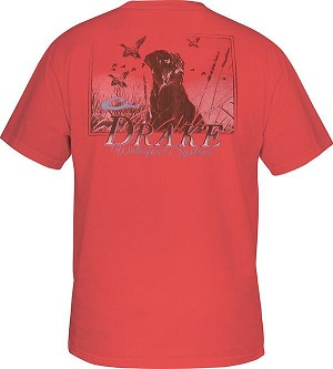 Drake Men's Southern Collection Southern Lab T Short Sleeve