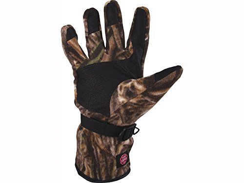 Drake Windstopper Fleece Gloves Polyester Realtree Max-5 Camo