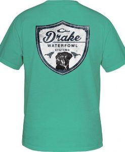 Drake Youth Drake Lab Shield T-Shirt Short Sleeve