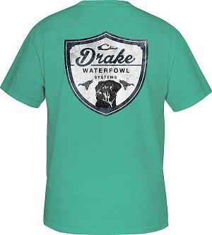 Drake Youth Drake Lab Shield T-Shirt Short Sleeve