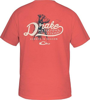 6da173feae735 Drake Youth In-Season T-Shirt Short Sleeve