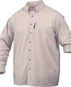 Drake Men's Delta Shirt W/ Vented Back Long Sleeve