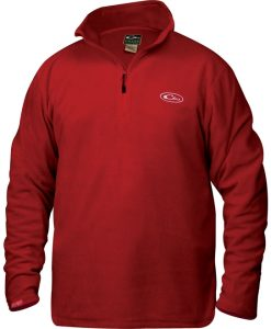 Drake Men's Camp Fleece Pullover 1/4 Zip