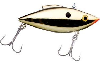 BILL LEWIS RAT L TRAP MINI TRAP GOLD BLACK BACK