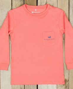 Southern Marsh Youth Expedition Series Tee Long Sleeve- Rainbow Trout