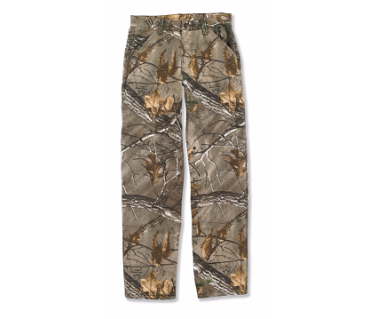 Carhartt Boys' Washed Camo Dungaree