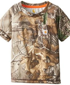 Carhartt Infant-Toddler Force Camo Pocket Tee, Realtree Xtra,