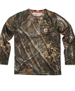 Carhartt Little Boys' Force Camo Raglan Tee