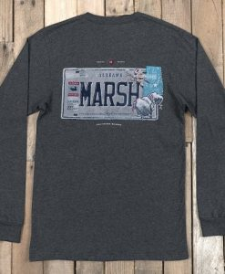 Southern Marsh Youth Backroads Collection Long Sleeve T-Shirt- Alabama