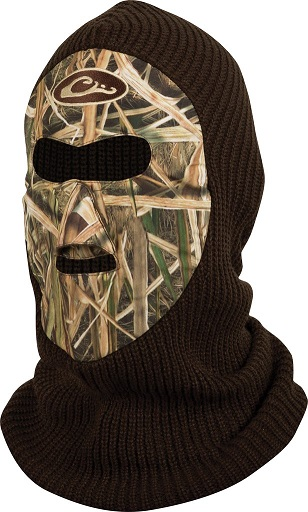 Drake LST Fleece Lined Face Mask MOSSY OAK BOTTOMLAND e5c5c41a0cfd