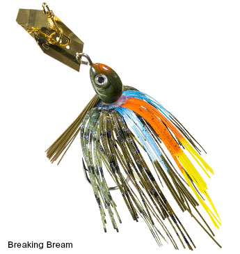 ZMAN WEEDLESS CHATTERBAIT PROJECT Z BREAKING BREAM