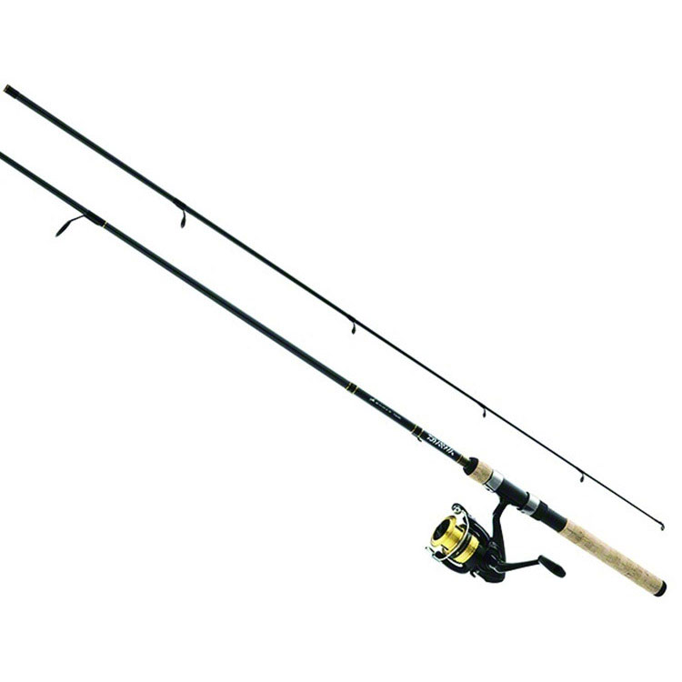 Daiwa D-Shock DSK-B 6 2pc. Medium Light Spinning Combo