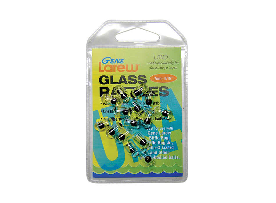 GENE LAREW GLASS BASS RATTLES