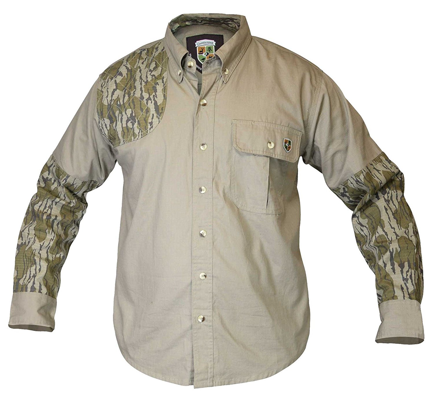 GameKeeper by SportChief Dirt Shirt Long Sleeve BOTTOMLAND ACCENT
