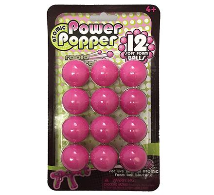 Hog Wild Popper Refill Balls - Pink