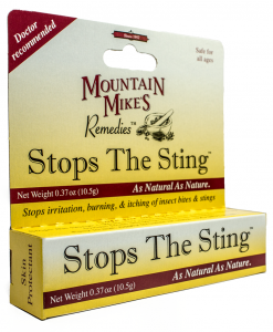 MOUNTAIN MIKES STOPS THE STING