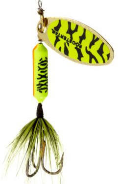 ORGINAL ROOSTER TAIL CHARTREUSE BLACK TIGER