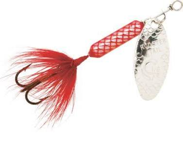 ORGINAL ROOSTER TAIL RED