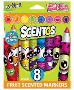 Scentos Fruit Scented Markers - 8 Pk.